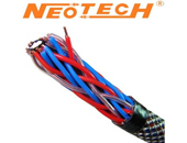 New speaker wire from Neotech NES-3001 copper and silver plate mix.
