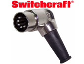 Switchcraft 5 din shielded plug. Naim audio compatible.