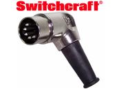 Switchcraft 5 din shielded plug. Naim audio compatible.