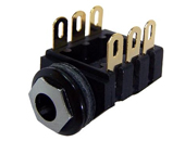 All new gold plated low cost 1/4 inch jack for guitar amp builders.